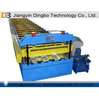 China Building Material Metal Roof Galvanized Iron Sheet Floor Deck Roll Forming Machine Production Line wholesale