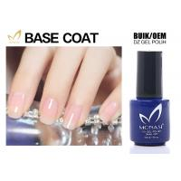 China SGS Approved Uv Gel Base Coat , Clear Base Coat For Training School Chemical Free wholesale