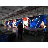 China P3.91 indoor Stage Rental Hanging curved LED flexible video Led wall display screen on sale