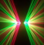 50 Watt RG Laser Beam Effect Stage Laser Light With 80mW 532nm Green Laser
