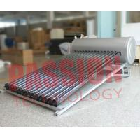 China Simple Structure Heat Pipe Solar Water Heater With Copper Heat Tube 6 Bar wholesale