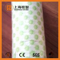 China Breathable Spunlace Non Woven Cloth , Apertured Rayon Multipurpose Wiping Cloth wholesale
