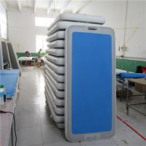 China Eco Friendly Aqua Yoga Mat Inflatable Yoga Sup Non Toxic 0.8m / 1.0m / 2.0m Width wholesale
