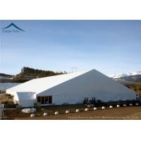 China Outdoor Big White Exhibition Fair Canopy Tents Wooden Floor 45m*65m wholesale