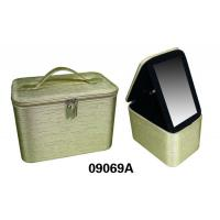 China Portable Decorative Custom Packing Boxes , PVC Leather Jewelry Box For Storage wholesale