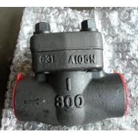 China SW NPT RF RTJ Integral Check Valve API 602 With Low Fugitive Emissions Control wholesale
