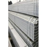China ERW Thin Wall Galvanized Steel Square Tubing / Tube For Construction , Steel Hollow Section on sale