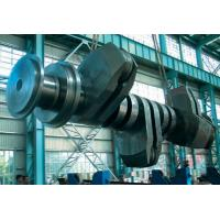 China Diesel Heavy Engine Forged Steel Crankshaft Alloy Steel For Compressor / Locomotive wholesale