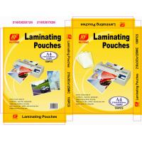 China A4 A3 80MIC 125MIC thermal hot PET laminating pouch film lamination pouches sheet laminate laminator roll film suppliers on sale