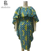 China slim fit african cape style dresses on sale wholesale