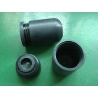 Plastic custom machined parts external filter cover and