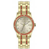 China Diamond on bezel 30.0mm round all stainless steel watches for ladies ,ladies jewelry watch wholesale