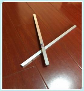 Buy cheap Square Hollow Aluminium Tube Profiles , Custom Aluminum Moulding Profiles from wholesalers