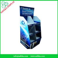 China 6 pockets Paper material shelf cardboard point of sale supermarket chimes and intercoms wholesale