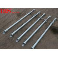 China Zinc Plated Screw Jack Shoring Posts For Formwork Wall Bracing 2700mm / 4000mm wholesale
