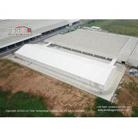 China Water Proof 20 Meter Width Industrial Storage Tents WIth PVC Sidewalls For Warehouse wholesale