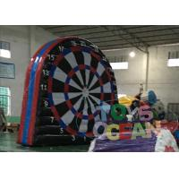 China Commercial Show Inflatable Sport Game Outdoor Football Throw Target For Advertising wholesale