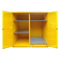 China Flammable Drum Storage Cabinets , Gasoline Storage Cabinets 2 Door For Oil Tank Drum wholesale