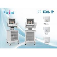 Buy cheap Wholesale Price 3 heads High Intensity Focused Ultrasound HIFU face lift beauty machine from wholesalers