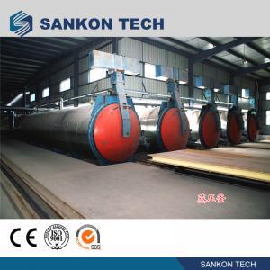China SANKON Vertical Autoclave Machine for aerated concrete block wholesale