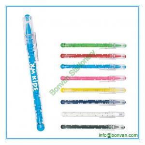 China plastic puzzle pen, plastic toy pen, maze ball point pen wholesale