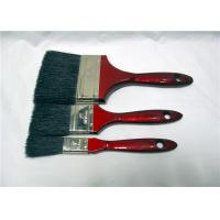 Wholesale Wholesale Flat Soft Black Bristle Paint Brush With Red Wooden Handle from china suppliers