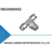 Air Fittings , Air Line Quick Connect Fittings 1.8MPa Max Pressure of