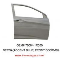 China Iron Korean Hyundai Verna Automotive Replacement Body Parts of Front Right Auto Door OEM 76004-1R300 wholesale