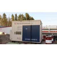 China Full Skided 1000Nm3 Compressed Natural Gas Stations with Gas / Oil Separate Cylinder on sale