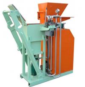 China Hydraulic Interlocking Small Clay Brick Making Machine , Automatic Brick Making Machine 1500(L)×600(W)×1400(H)mm wholesale