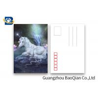 China Souvenir Gift 3D Lenticular Card With Customized Logo / Lenticular Photo Printing Postcard wholesale