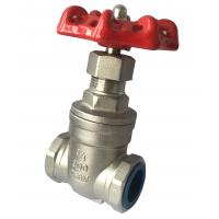 Chemical Resistant Manual Stainless Steel Gate Valve Female Thread