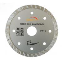 China ISO9001 Turbo Thin Diamond Saw Blade 5 Inches For Ceramic / Porcelain wholesale
