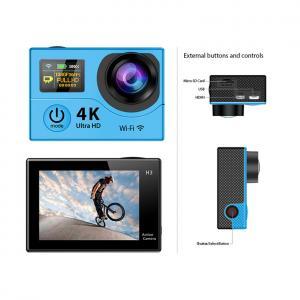 Buy cheap Multi Colored Waterproof Sports Video Camera With Wifi , Small Waterproof Video Camera from wholesalers