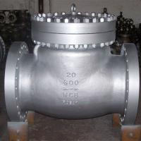 China ANSI 600LB RF Industrial Flanged Check Valve , Carbon Steel Swing Type Check Valve wholesale