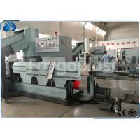 China PE PP BOPP Film / Bag Plastic Pelletizing Machine With Single Screw Extruder wholesale