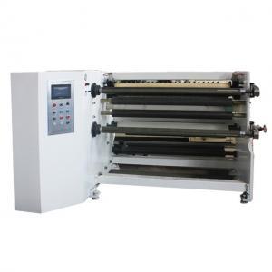 China 400mm 7.5kv 150m/Min PVC Duplex Slitter Rewinder Machine wholesale