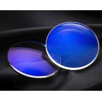 China Customer Size Anti Blue Light Lenses Single Vision Effect With Glass Material wholesale