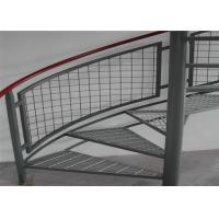 Mild Steel Grating Plate Anti Skid , Light Weight Metal Grate Sheet For Stair Tread