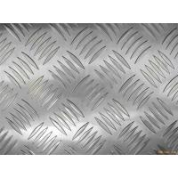 China Decorative flooring / table / tank 3003 Checkered Aluminum Sheets Mill Finished Surface wholesale