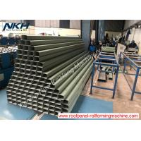 China Professional Downpipe Roll Forming Machine PLC Control With Elbow / Crimping on sale