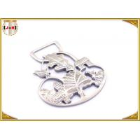 China Ladies Bag Hollowed Custom Stamped Metal Logo Tags High Class Patterned wholesale