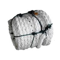 China Braided Soft Polypropylene Mooring Rope 80mm X 200m High Water Absorption wholesale