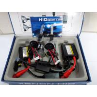 Wholesale DC 35w h7 hid xenon kit (slim ballast ) color box packing (black and red wire) from china suppliers