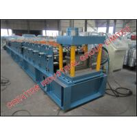 China Hot Dipped Galvanised Steel Purlin Roll Forming Machine 15m/min on sale