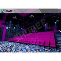 China Customized Color Movie Theater Seats , SV Cinema Movie Theater Chairs 120 Seats wholesale