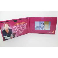 China VIF Portable Advertising Folder Video Brochure Touch Screen 5 / 7 / 10.1 Inch Video Marketing Player Greeting Card wholesale