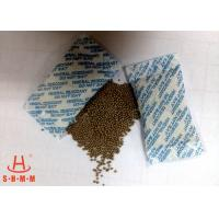 China Odorless Moisture Proof Mineral Desiccant 10g Non Woven Packing With Round Granular on sale