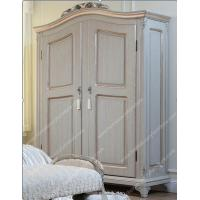 China Bedroom Furniture Antique Wood Clothes Wardrobe Cabinet FCD-103 on sale