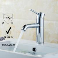 China Mechanical Chrome Sink Faucets Without Purified Water Outlet wholesale